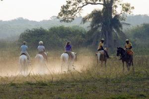 Posada Horseback Ride by Mark Wetzel