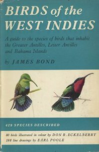 Birds of the West Indies by James Bond