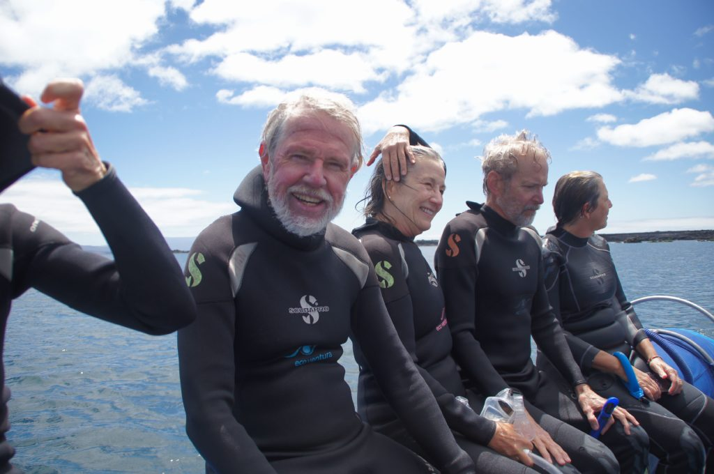 Snorkeling is one item on the agenda in our vaccinated cruises to the the Galapagos birds you could see on Naturalist Journeys' vaccinated cruises