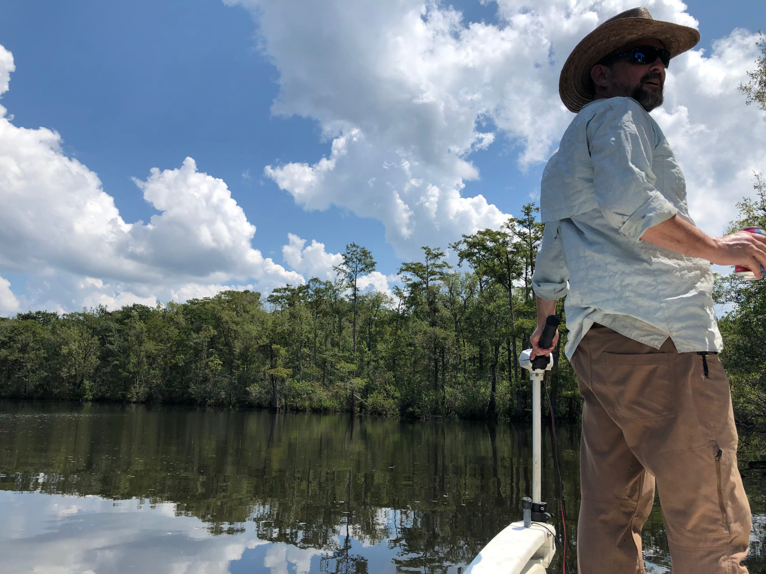 Ben Raines is a pioneer in Alabama wildlife conservation