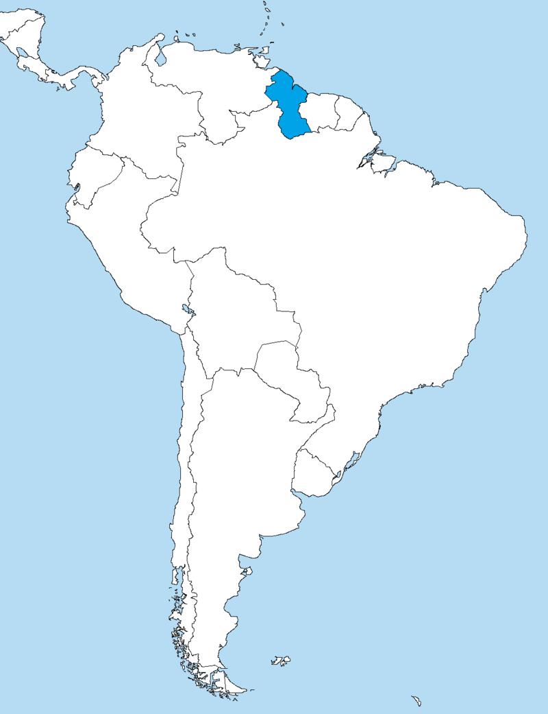 Guyana Travel puts you into the heard of the Guiana Shield in Northeast South America