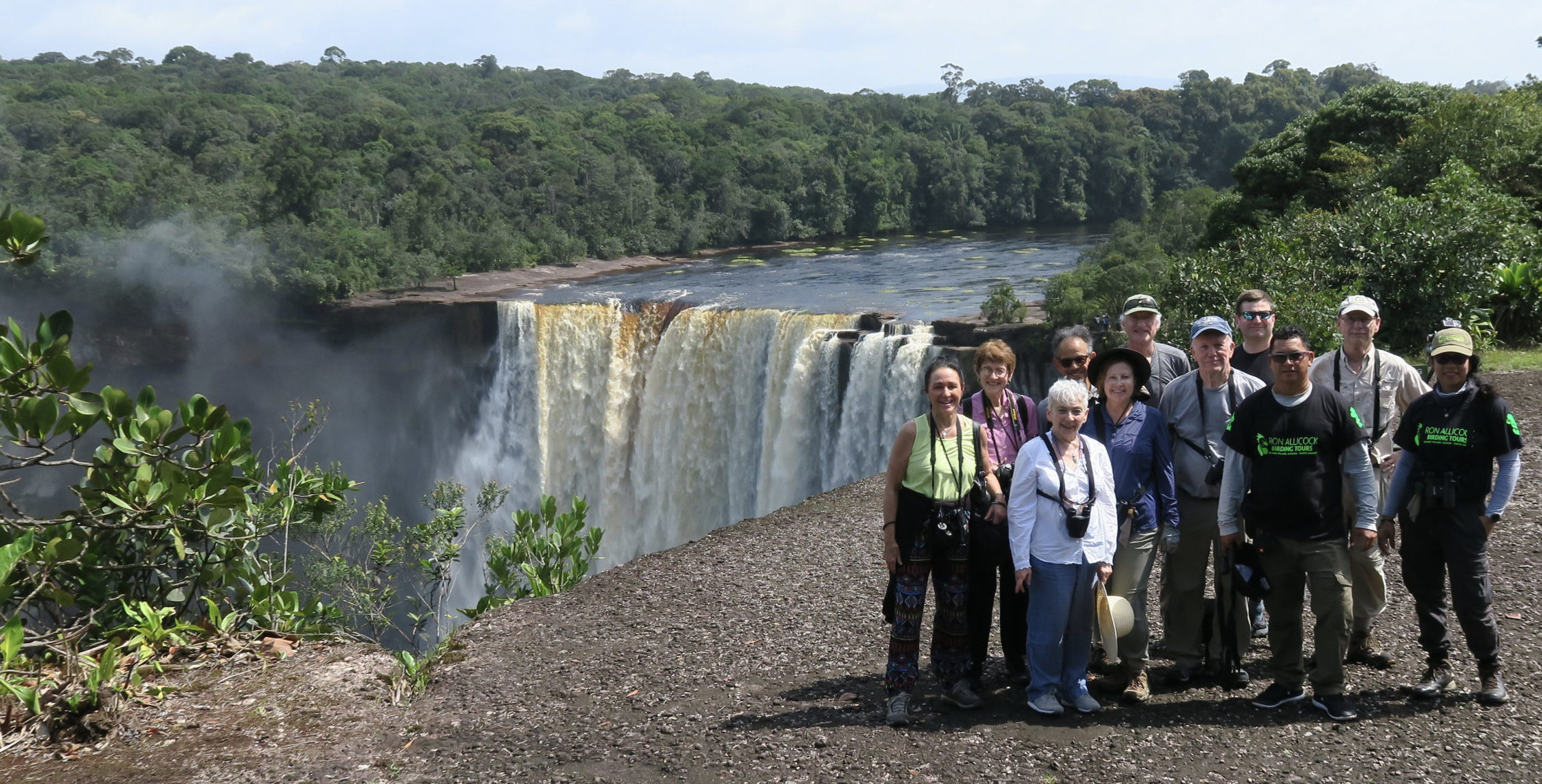 Guyana travel often includes a trip to Kaieteur Falls