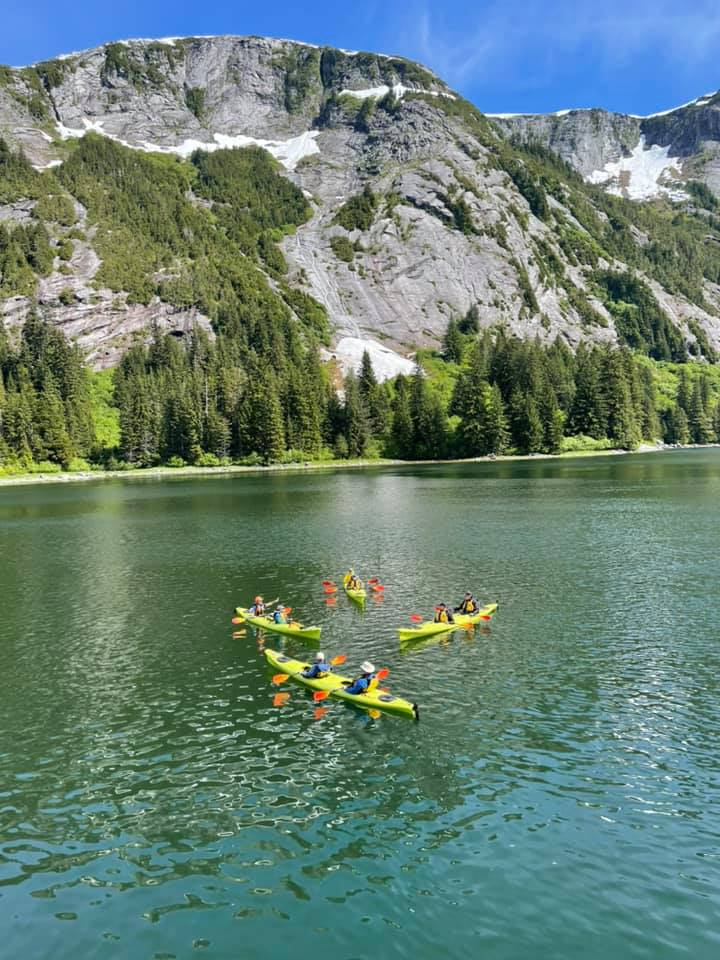 Our Naturalist Journeys Cruise to Southeast Alaska includes kayaks!